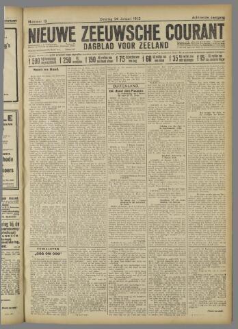 Nieuwe Zeeuwsche Courant 1922-01-24