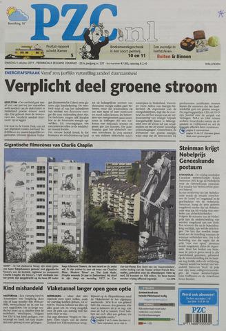 Provinciale Zeeuwse Courant 2011-10-04