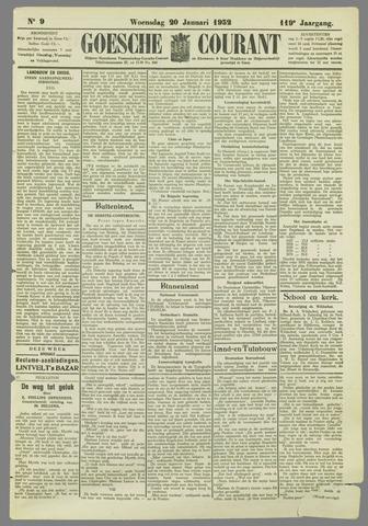 Goessche Courant 1932-01-20