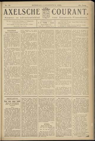 Axelsche Courant 1925-08-04