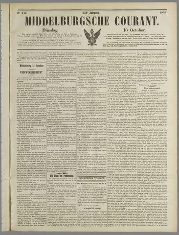 Middelburgsche Courant 1908-10-13