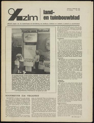 Zeeuwsch landbouwblad ... ZLM land- en tuinbouwblad 1973-02-09