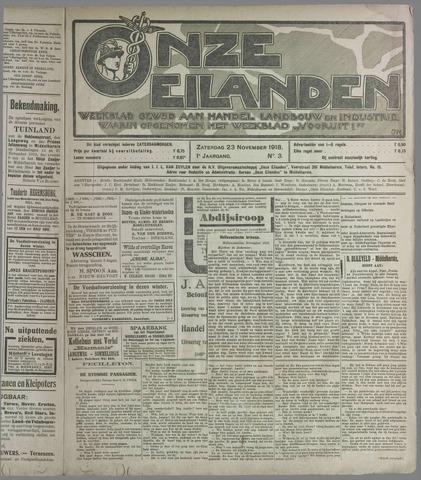 Onze Eilanden 1918-11-23