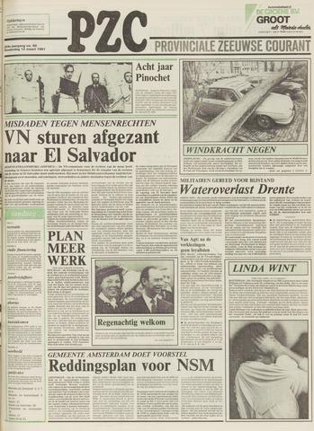 Provinciale Zeeuwse Courant 1981-03-12
