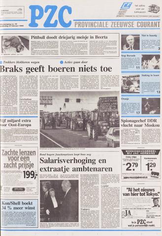 Provinciale Zeeuwse Courant 1990-02-22