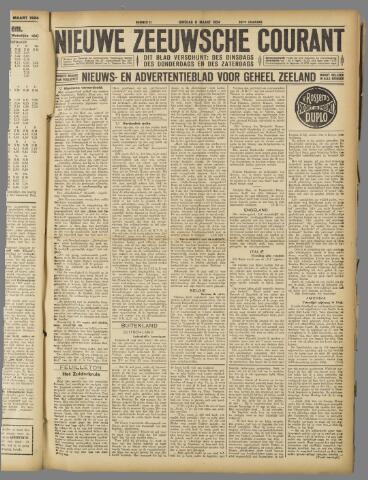 Nieuwe Zeeuwsche Courant 1924-03-11