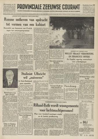 Provinciale Zeeuwse Courant 1956-08-02