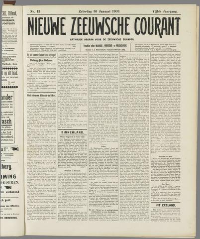 Nieuwe Zeeuwsche Courant 1909-01-30