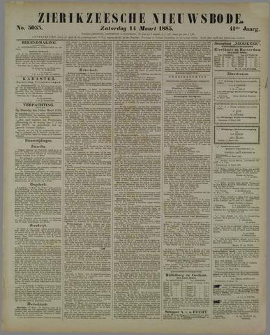 Zierikzeesche Nieuwsbode 1885-03-14