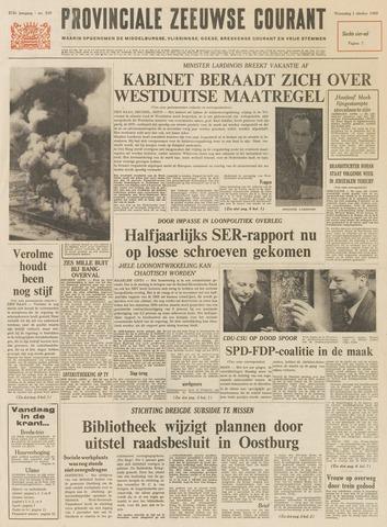 Provinciale Zeeuwse Courant 1969-10-01