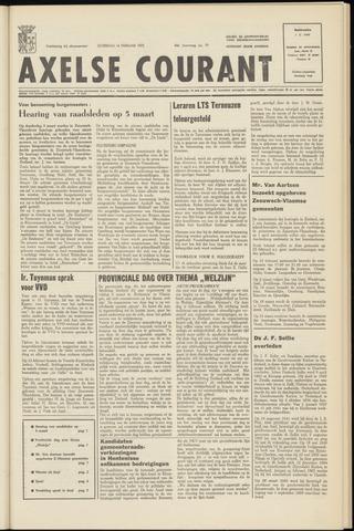 Axelsche Courant 1970-02-14