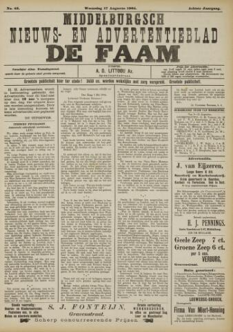 de Faam en de Faam/de Vlissinger 1904-08-17