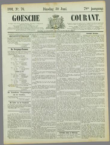 Goessche Courant 1891-06-30
