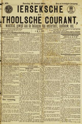 Ierseksche en Thoolsche Courant 1904-01-23
