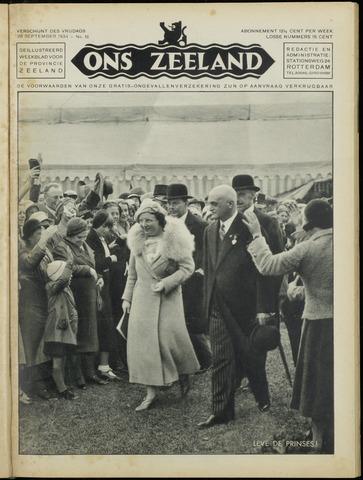 Ons Zeeland / Zeeuwsche editie 1934-09-28