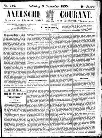 Axelsche Courant 1893-09-09