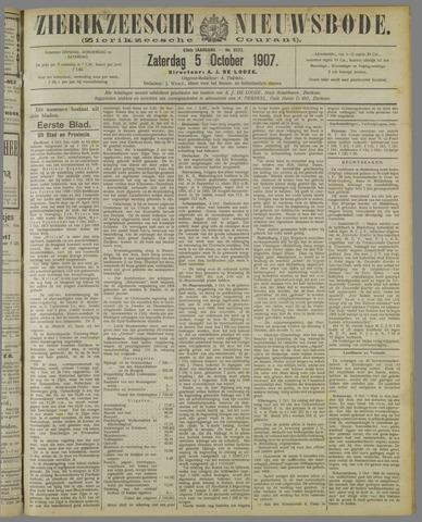 Zierikzeesche Nieuwsbode 1907-10-05