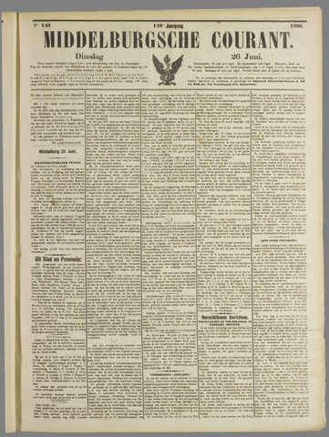 Middelburgsche Courant 1906-06-26