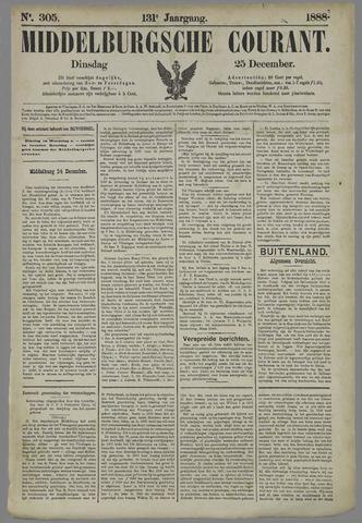 Middelburgsche Courant 1888-12-25
