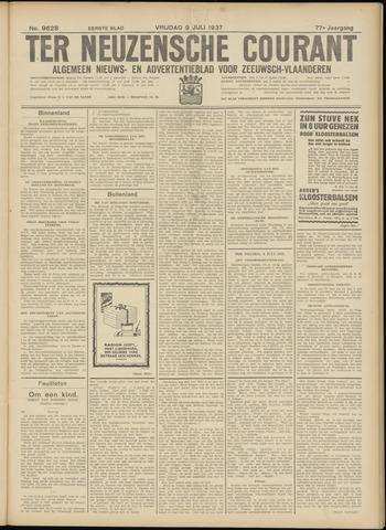 Ter Neuzensche Courant. Algemeen Nieuws- en Advertentieblad voor Zeeuwsch-Vlaanderen / Neuzensche Courant ... (idem) / (Algemeen) nieuws en advertentieblad voor Zeeuwsch-Vlaanderen 1937-07-09