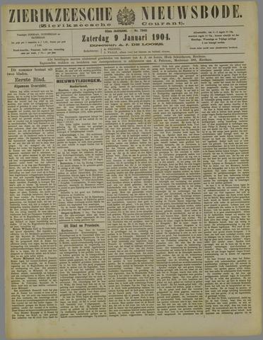 Zierikzeesche Nieuwsbode 1904-01-09