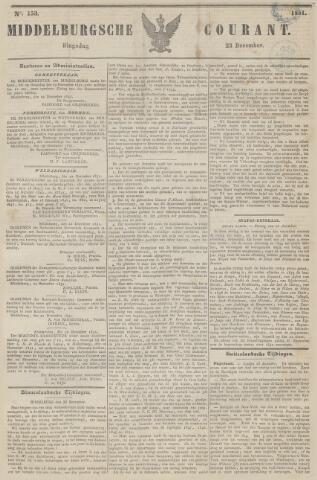 Middelburgsche Courant 1851-12-23