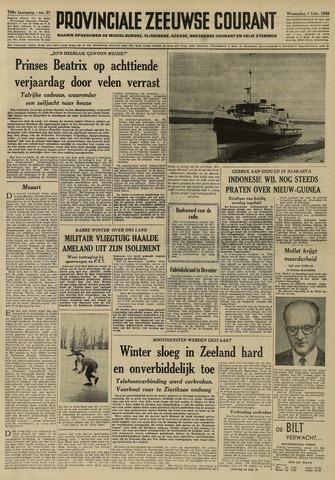 Provinciale Zeeuwse Courant 1956-02-01
