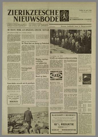 Zierikzeesche Nieuwsbode 1965-04-16