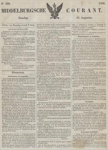 Middelburgsche Courant 1866-08-14