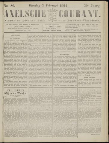 Axelsche Courant 1924-02-05