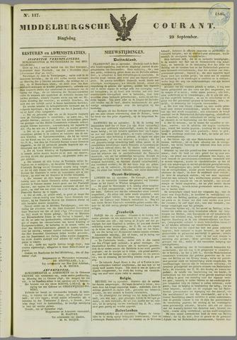 Middelburgsche Courant 1846-09-29