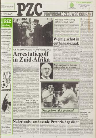 Provinciale Zeeuwse Courant 1986-06-13