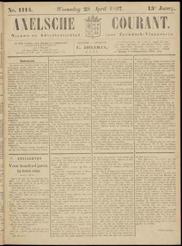 Axelsche Courant 1897-04-28