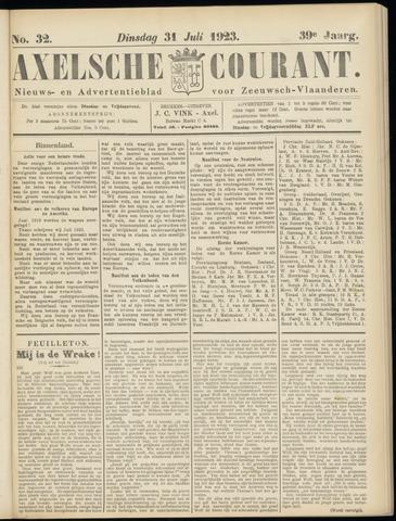Axelsche Courant 1923-07-31