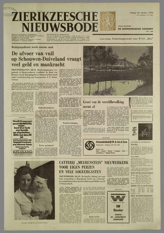 Zierikzeesche Nieuwsbode 1976-10-29