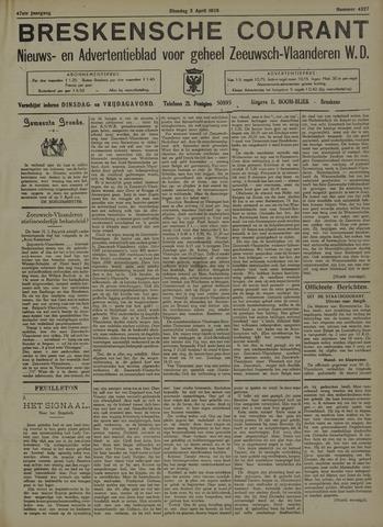 Breskensche Courant 1938-04-05