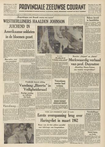 Provinciale Zeeuwse Courant 1961-08-21