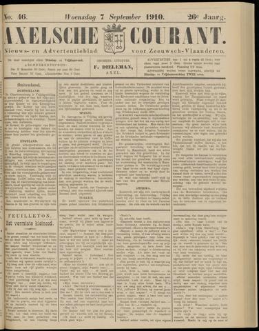 Axelsche Courant 1910-09-07