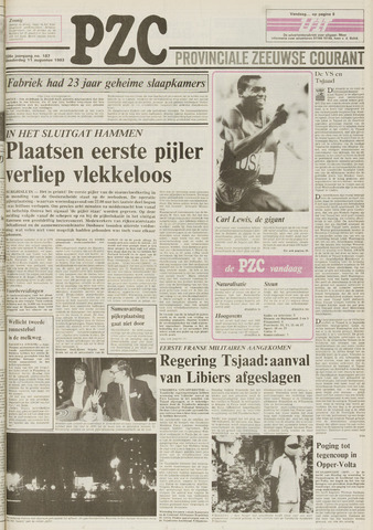 Provinciale Zeeuwse Courant 1983-08-11