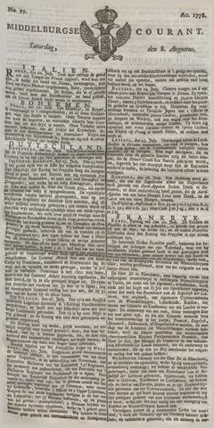 Middelburgsche Courant 1778-08-08
