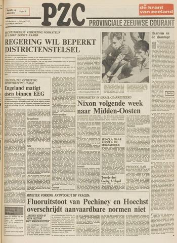Provinciale Zeeuwse Courant 1974-06-05