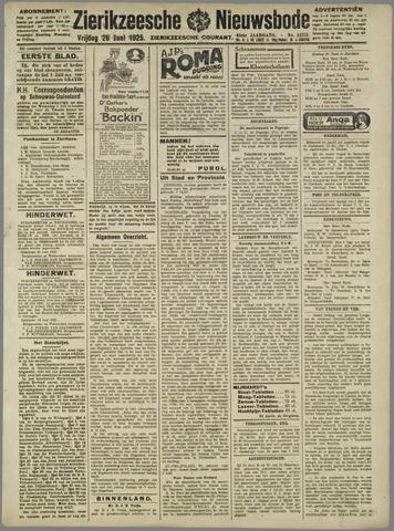 Zierikzeesche Nieuwsbode 1925-06-26