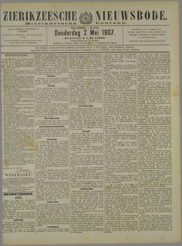 Zierikzeesche Nieuwsbode 1907-05-02