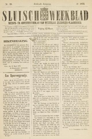 Sluisch Weekblad. Nieuws- en advertentieblad voor Westelijk Zeeuwsch-Vlaanderen 1875-03-12