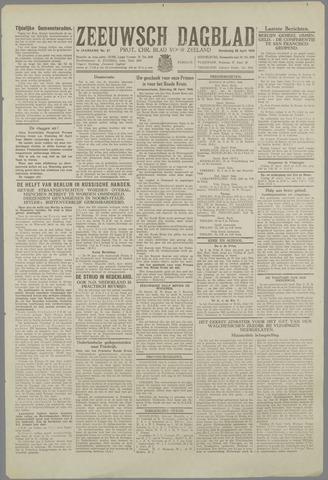 Zeeuwsch Dagblad 1945-04-26
