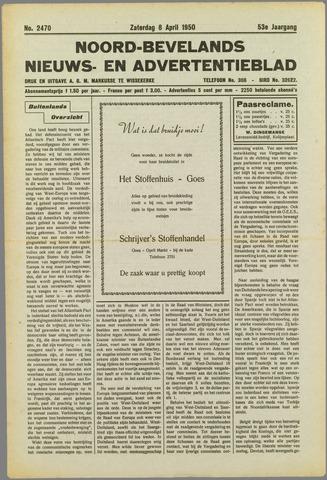 Noord-Bevelands Nieuws- en advertentieblad 1950-04-08