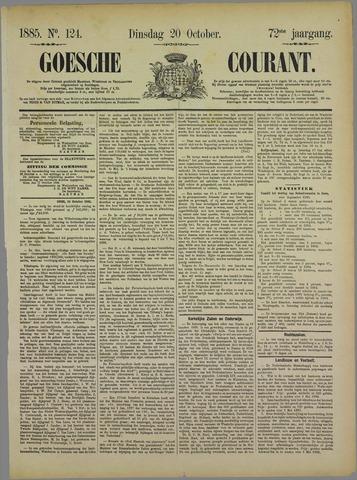 Goessche Courant 1885-10-20