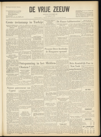 de Vrije Zeeuw 1957-10-22