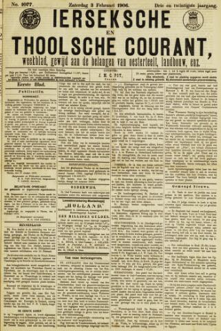 Ierseksche en Thoolsche Courant 1906-02-03