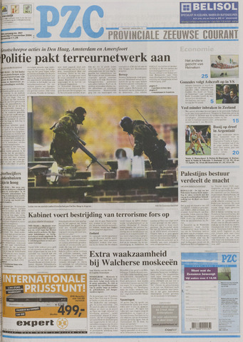 Provinciale Zeeuwse Courant 2004-11-11